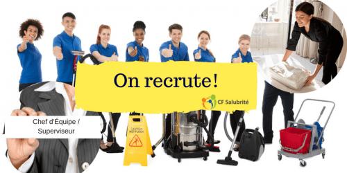 Recruter des employés de qualité pour votre entreprise de nettoyage