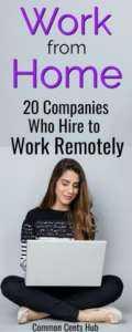 Top 20 des idées de travail légitimes à partir d'entreprises à domicile
